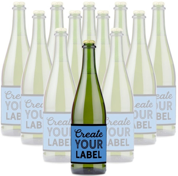 Personalized Sparkling Cider Non Alcoholic Wine Gift