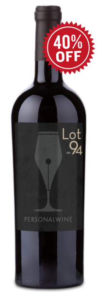 Lot 94 Private Reserve Napa Valley Cabernet Sauvignon - Winery Front Label