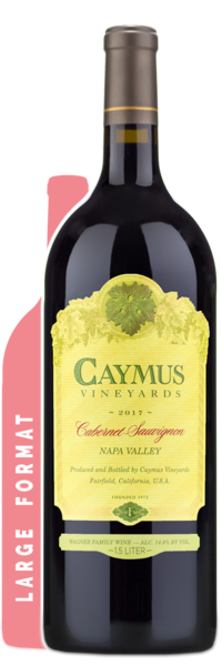 2017 Caymus Vineyards Napa Valley Cabernet Sauvignon | 1.5L - Winery Front Label