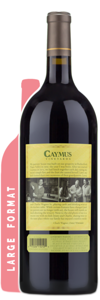 2017 Caymus Vineyards Napa Valley Cabernet Sauvignon | 1.5L - Winery Back Label