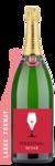 Taittinger Brut La Francaise Double Magnum | 3L - Labeled Example