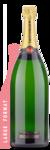Taittinger Brut La Francaise Double Magnum | 3L - Winery Back Label