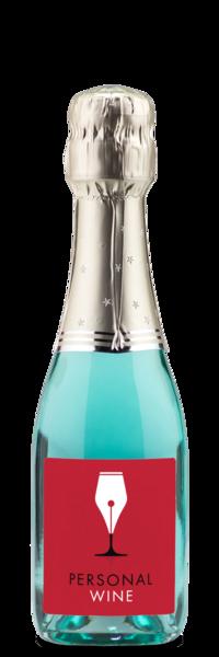 Blanc de Bleu Brut minis label