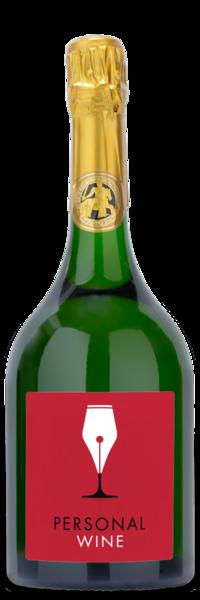 2007 Taittinger Comtes de Champagne Blanc de Blancs - Labeled Example