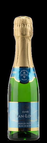 Mini Champagne Bottles - Charles de Fere Blanc de Blancs NV - Winery Front