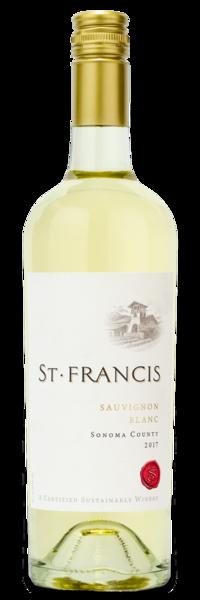 2017 St. Francis Sauvignon Blanc - Winery Front Label