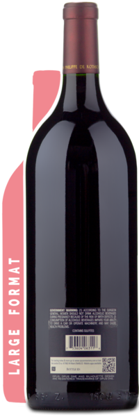 2014 Opus One Magnum - Winery Back Label