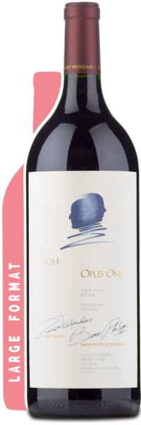 2014 Opus One Magnum - Winery Front Label