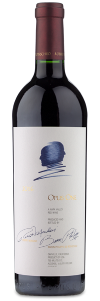 2016 Opus One Napa Valley - Winery Front Label