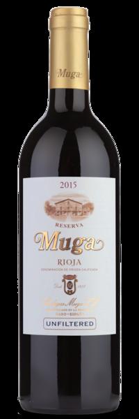 2015 Bodegas Muga Rioja Reserva - WInery Front Label