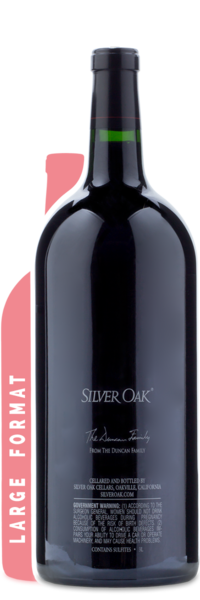 2014 Silver Oak Napa Valley Cabernet Sauvignon | 3L - Winery Back Label