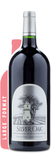 2015 Silver Oak Alexander Valley Cabernet Sauvignon | 3L - Winery Front