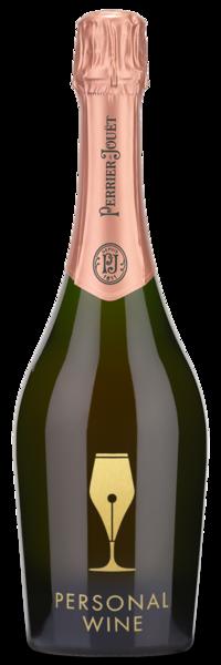 Perrier Jouet Blason Rose - Engraved Example