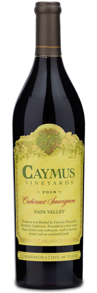 2018 Caymus Vineyards Napa Valley Cabernet Sauvignon - Winery Front Label