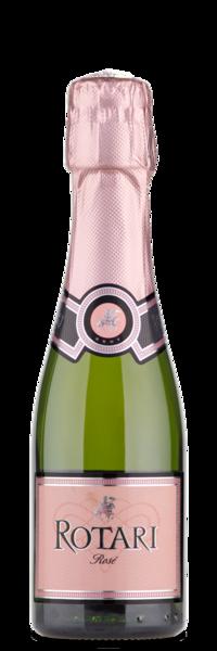 Rotari rose NV Mini Bottle Winery Front
