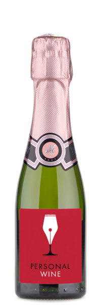 Rotari Prosecco Rose NV Mini Bottle Label