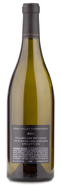 Evening Land Chardonnay - Winery Back