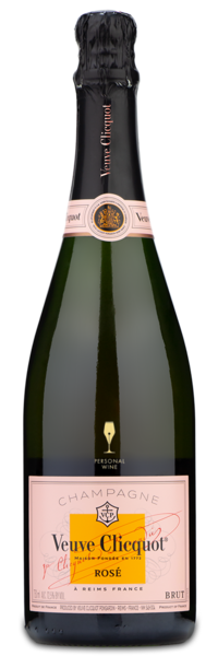 Veuve Clicquot Rosé - Engraved Example