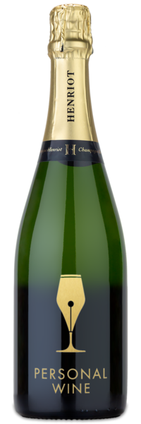 Henriot Brut Souverain - Engraved Example
