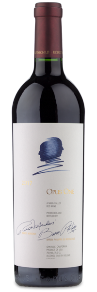 2017 Opus One Napa Valley - Winery Front Label