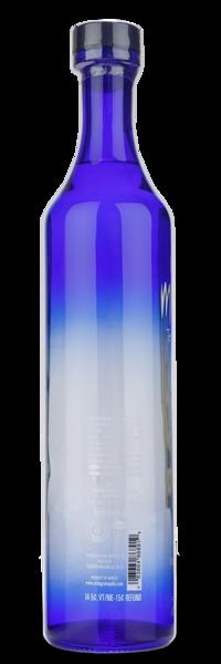 Leyenda Milagro Silver Tequila - Left Side of the Bottle