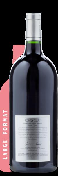 2017 Silver Oak Alexander Valley Cabernet Sauvignon   3L - Winery Back Label
