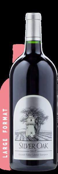 2017 Silver Oak Alexander Valley Cabernet Sauvignon   3L - Winery Front Label