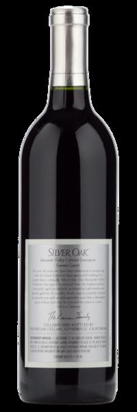 2017 Silver Oak Alexander Valley Cabernet Sauvignon - Winery Back Label