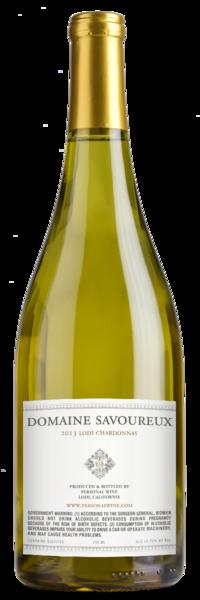 Domaine Savoureux Lodi Chardonnay Winery Back