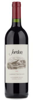 2012 Jordan Cabernet Sauvignon - Winery Front Label