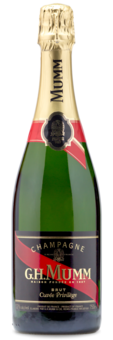 GH Mumm Champagne - Winery Front Label