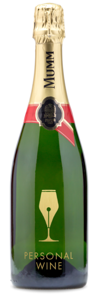 GH Mumm Champagne - Engraving