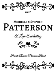 Custom Engraved Wine Bottles Gifts Personal Wine - Engraving templates